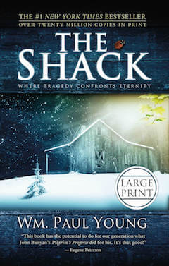 The Shack Large Print Front Cover